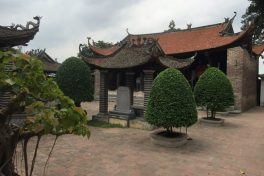 The ancient village of Dong Ngac
