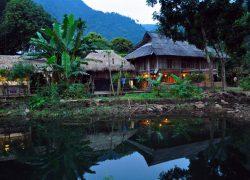 Khung cảnh thiên nhiên xung quanh Homestay Hữu Thảo