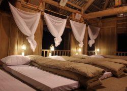 Phòng nghỉ tạo cảm giác mới mẻ, gọn gàng và rất ấm cúng